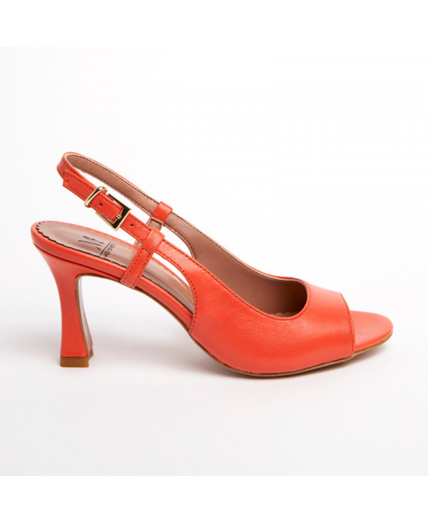 MZ small size womens front tie suede pump
