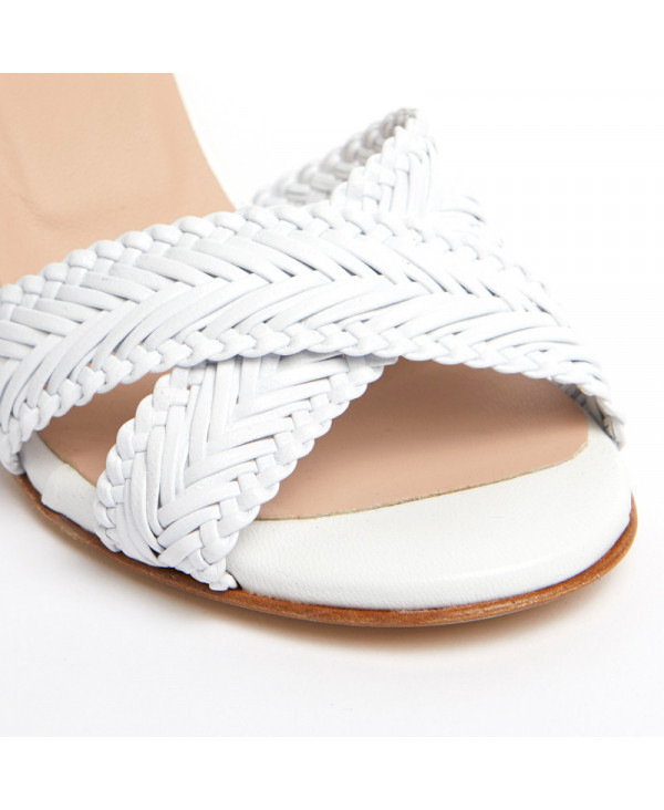 MZ small size womens marine wedge espadrille